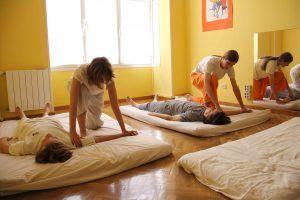 shiatsu, talleres, masaje, formación, digitopresión, acupuntura,centro enki